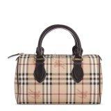 BURBERRY(博柏利) #经典骑士格纹PVC手提包