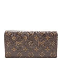 Louis Vuitton(路易威登) #老花色长款两折钱夹