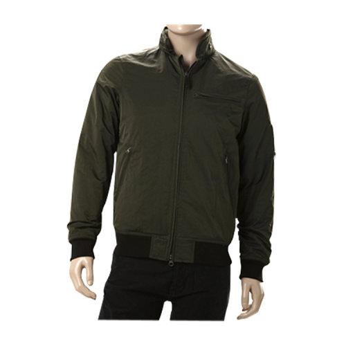 男士外套】armani阿玛尼男士蓝绿色休闲外套