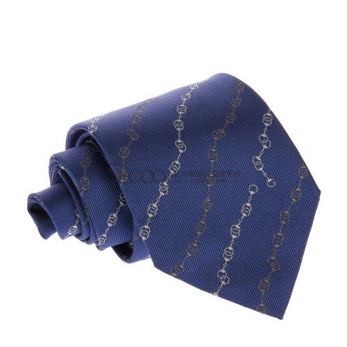 gucci 古驰深蓝色男士领带