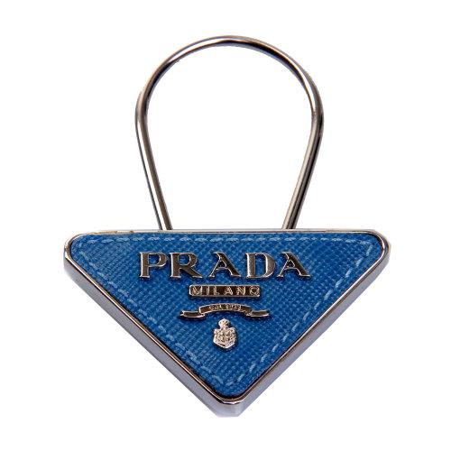 prada(普拉达)蓝色经典标志挂饰
