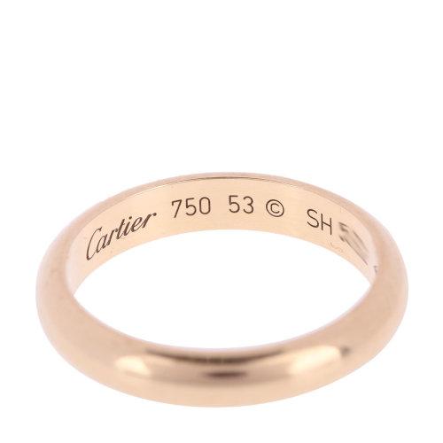 卡地亚7黄金戒指