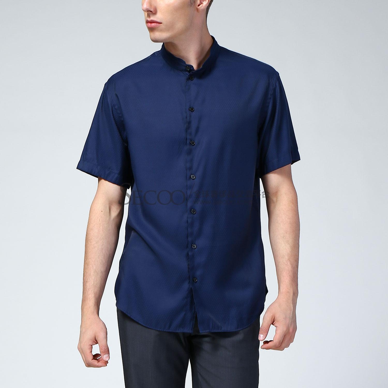 【armani阿玛尼 男士衬衫】armani collezioni蓝色