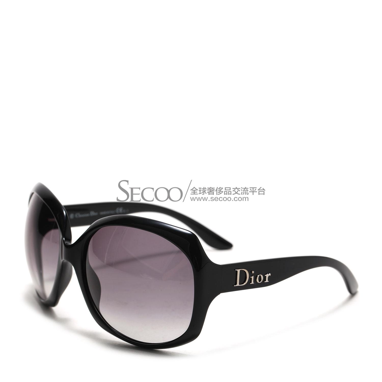 dior(迪奥) 黑色边框logo太阳镜