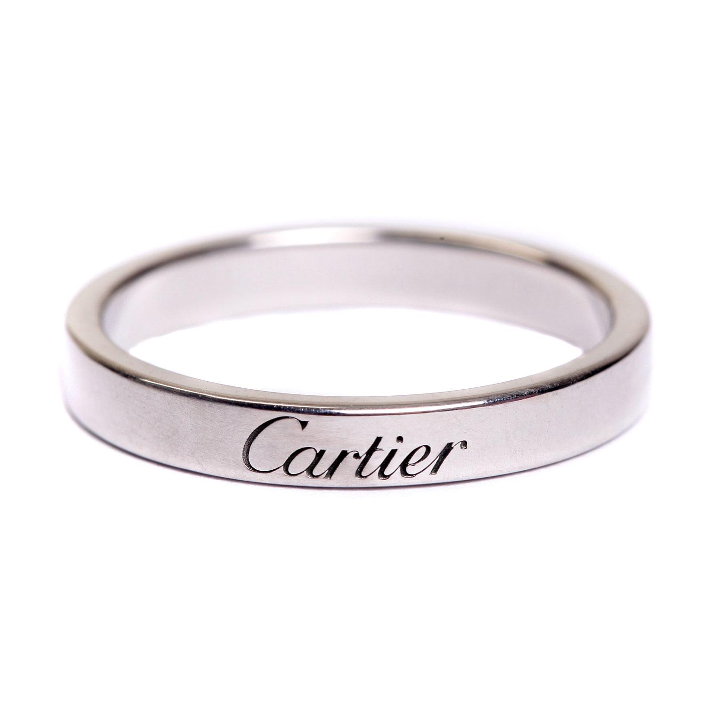 cartier(卡地亚) 铂金戒指55