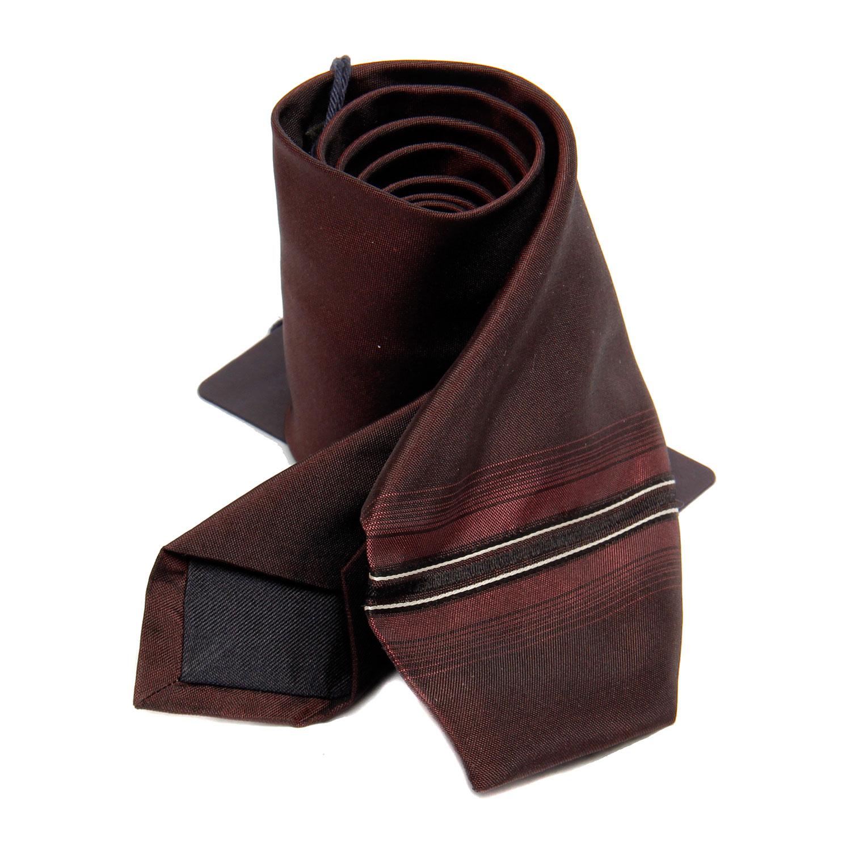prada(普拉达)男士黑红色领带