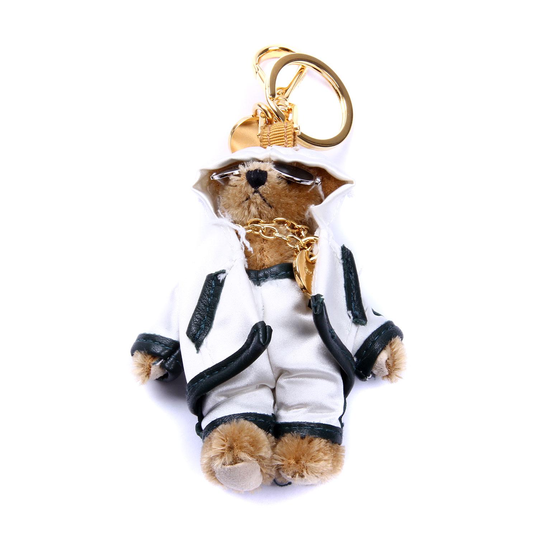 prada(普拉达)白色小熊挂饰