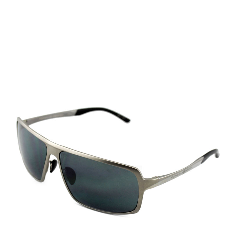 porsche 保时捷 银框蓝色树脂眼镜 8495b