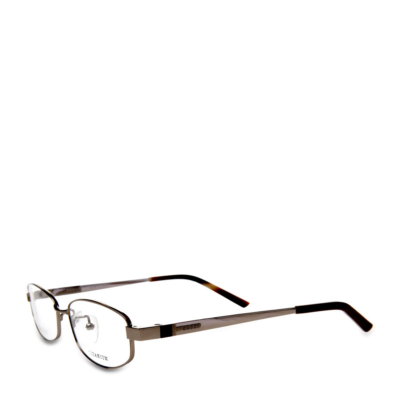 gucci(古驰)银色金属框架眼镜