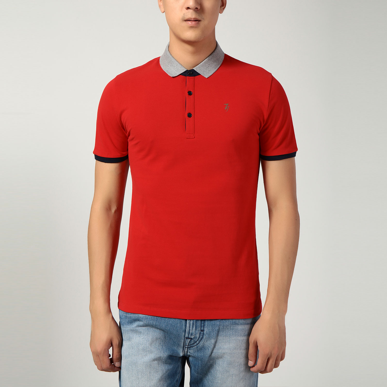 手绘t恤 红色