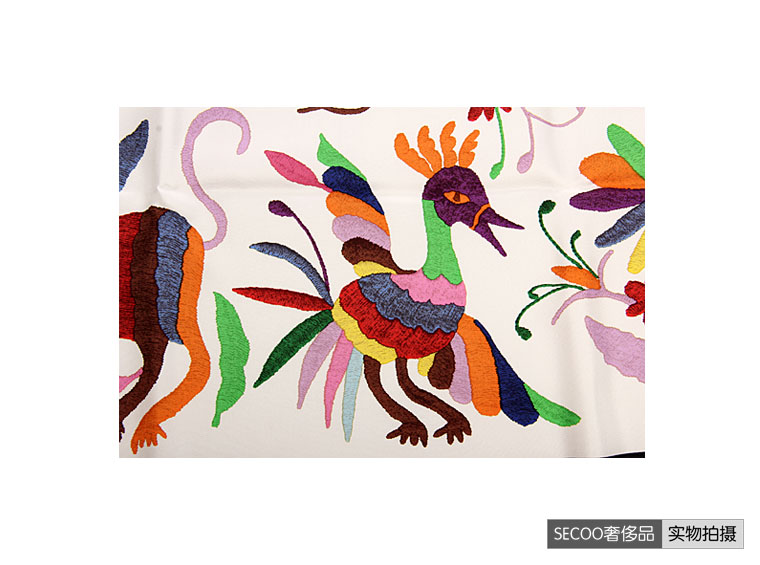 hermes(爱马仕)动物图案丝巾 wy图片
