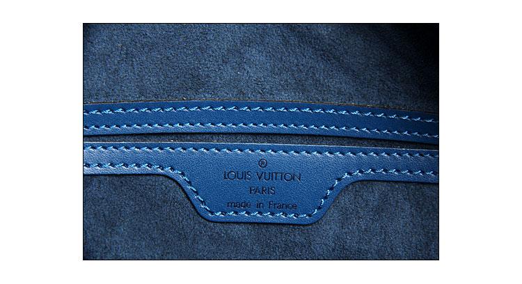 蓝色水木纹子母包
