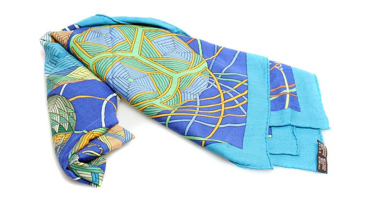 系丝带的围巾的步骤图解