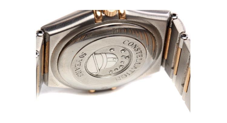 omega(欧米茄)星座系列50周年纪念款男士机械腕表图片